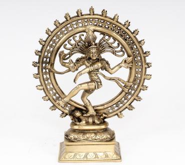 SCHÖNE DURGA STATUE 13 CM HOCH HIMALAYA BUDDHA  YOGA MEDITATION INDIEN